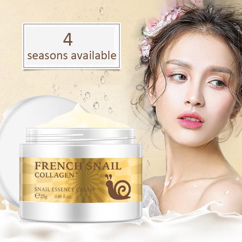 LAIKOU Brand Face Snail Cream Collagen Serum Vitamin B3 Hyaluronic Acid Essence Repair Skin Care Moisturizer Lifting Visage Pore