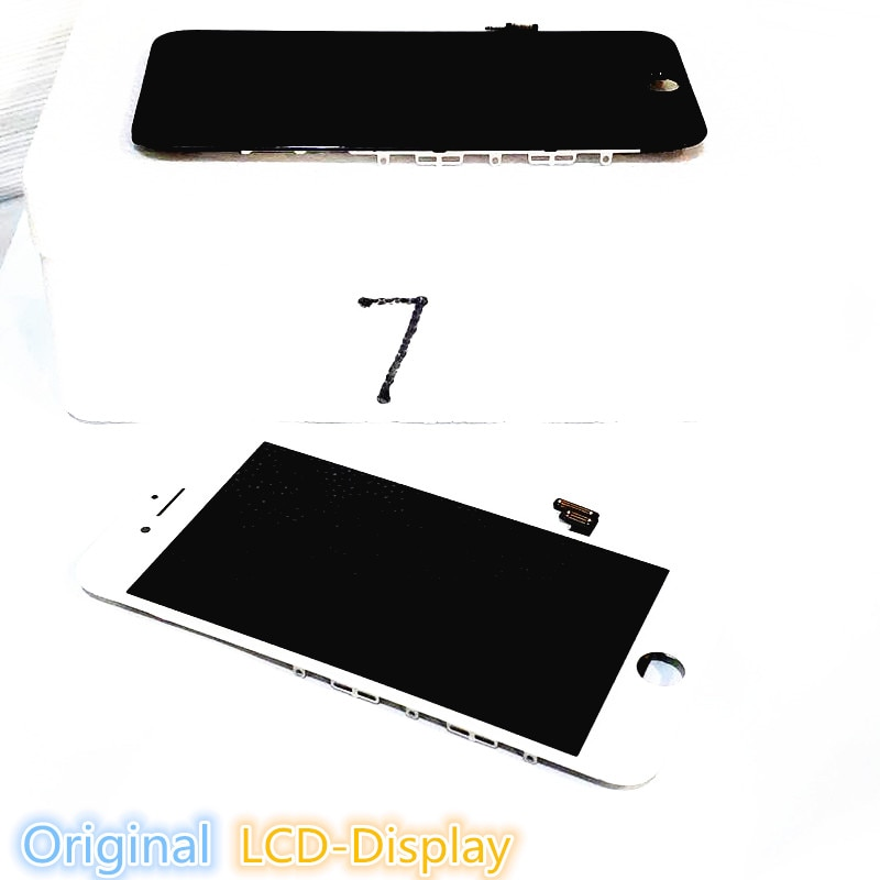 Original Good Display Touch Screen Refurbished LCD For iPhone 7 6 6s Plus 7Plus Black White Digitizer Assembly Replacement enlarge