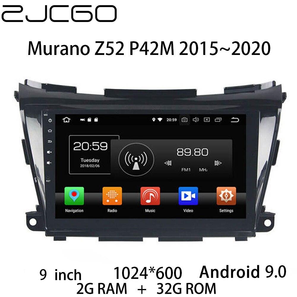 Carro multimídia player estéreo gps dvd rádio navegação tela android para nissan murano z52 p42m 2015 2016 2017 2018 2019 2020