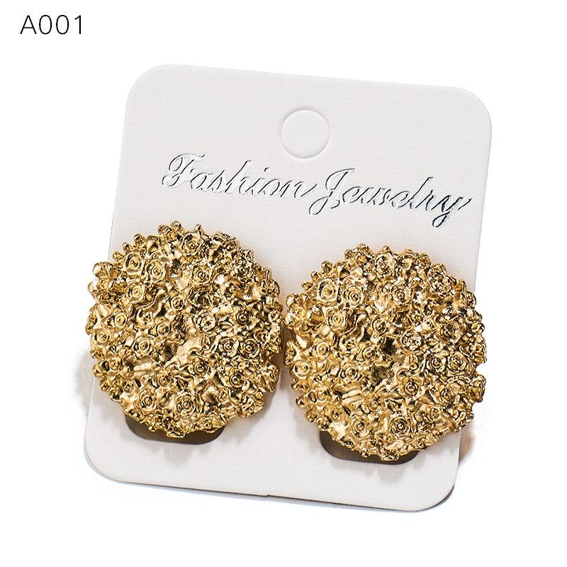 AliExpress - SHUANGR Punk Simple Geometric Earrings For Women Personality Jewelry Brincos