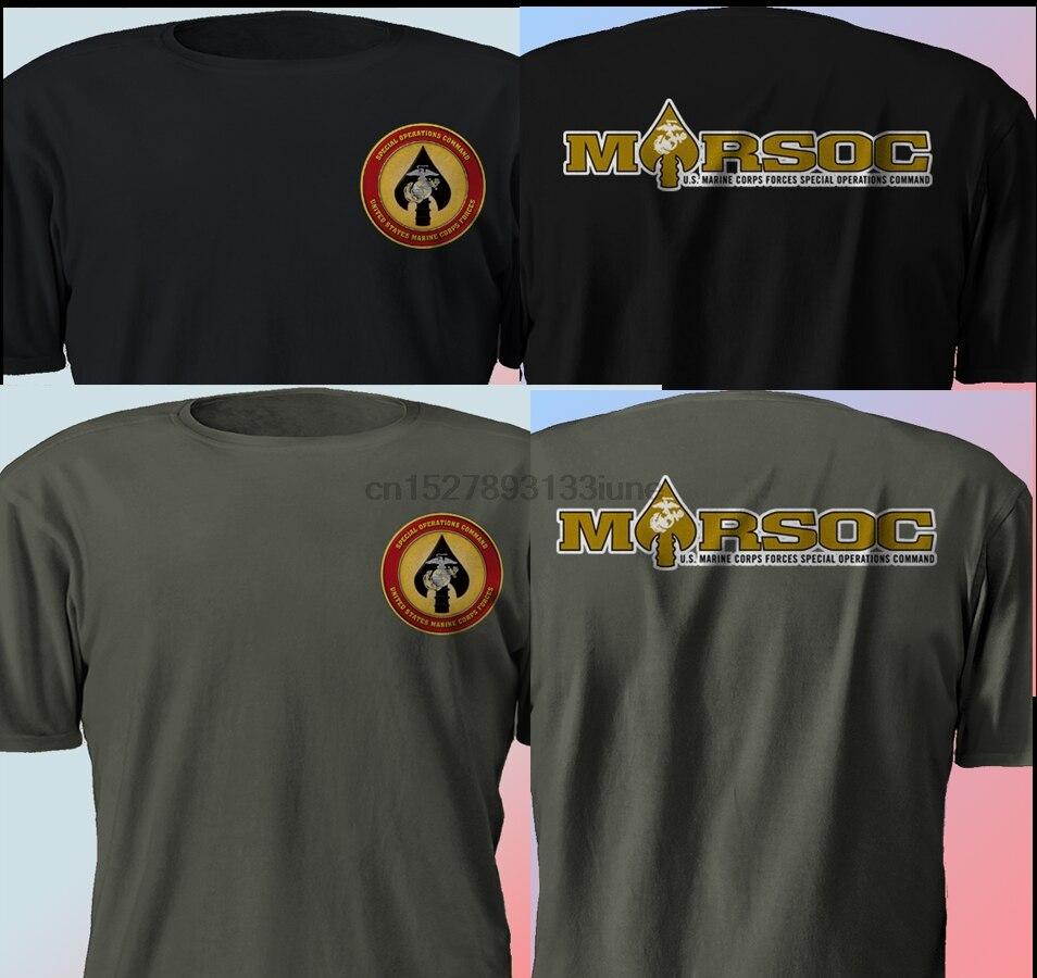 Nuevo Usmc Marsoc Fuerza Marina Militar sello Multicolor camiseta S-3Xl