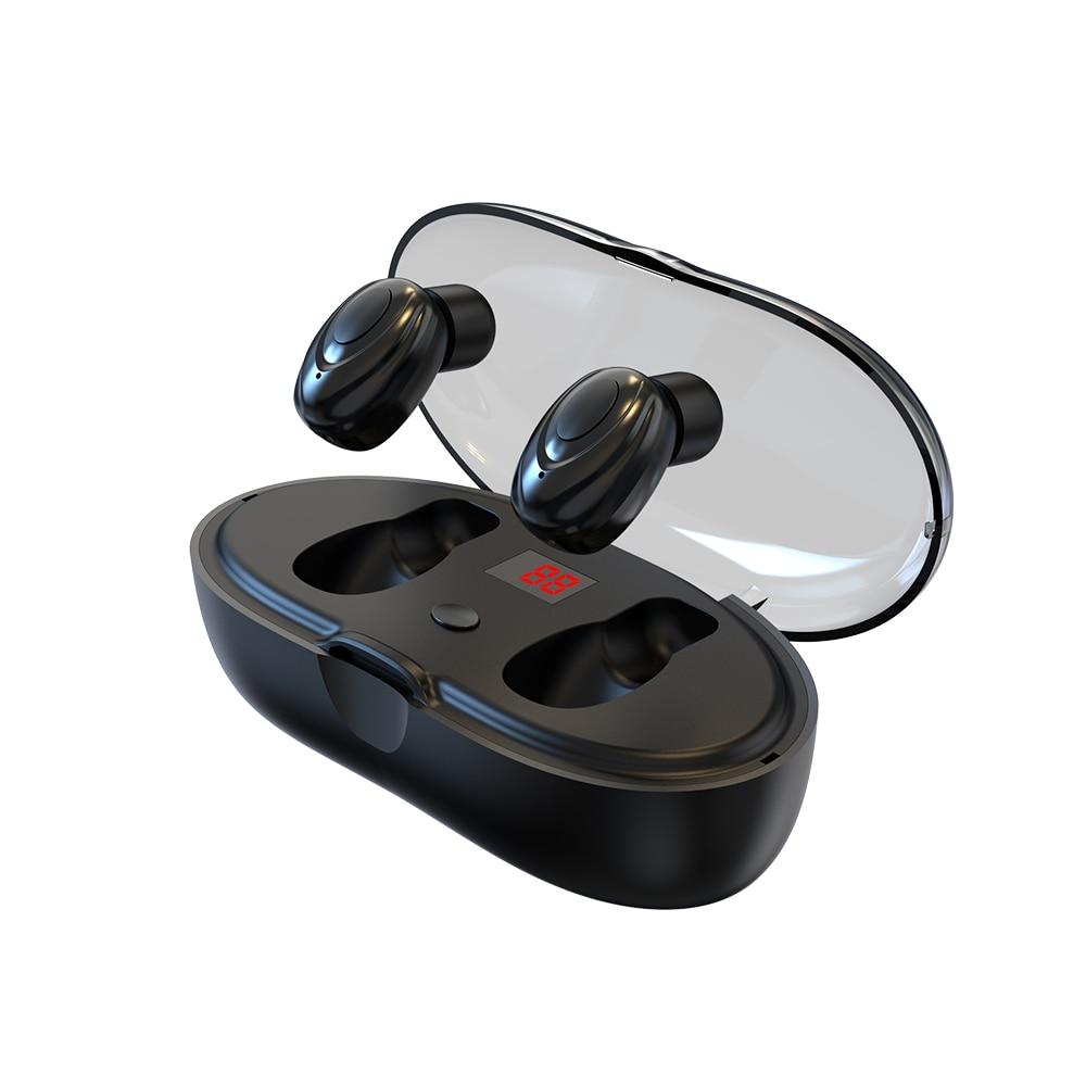 Serie W23 TWS Bluetooth Auriculares deportivos inalámbricos pantalla LED de potencia auriculares de emparejamiento automático para Iphone Xiaomi Samsung 2020