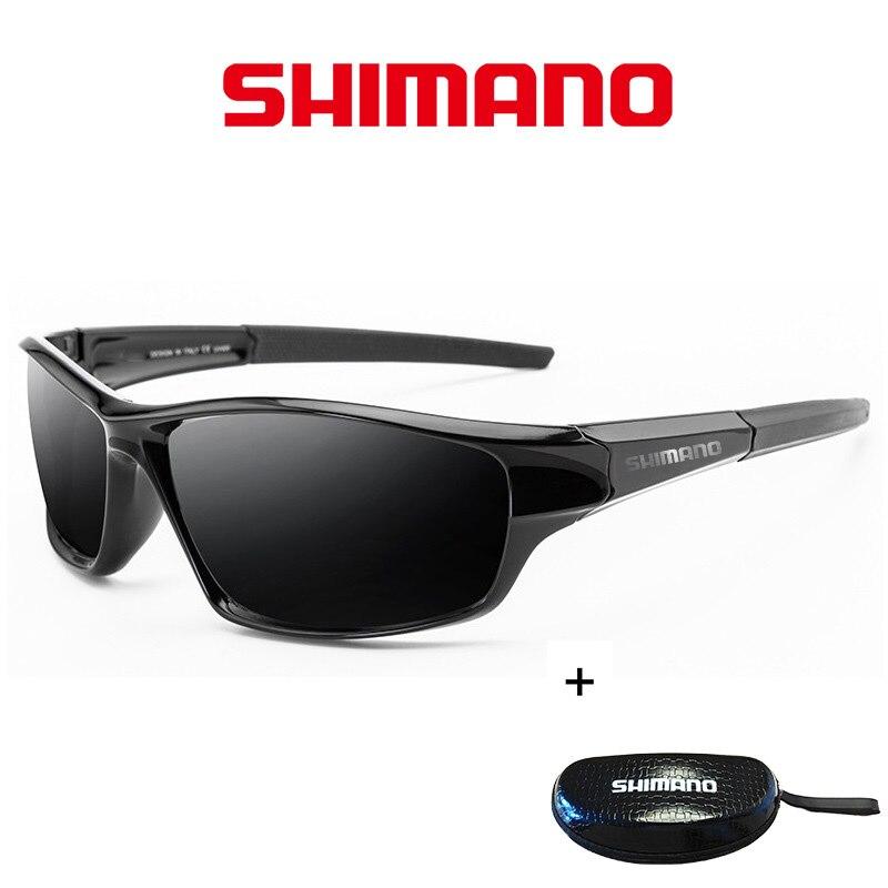 Shimano New Fishing Glasses Men And Women Outdoor Fashion Sunglasse Polarized Driving Leisure UV400 Sunglasses