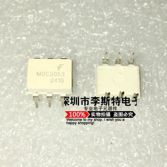 10pcs MOC3053 DIP-6