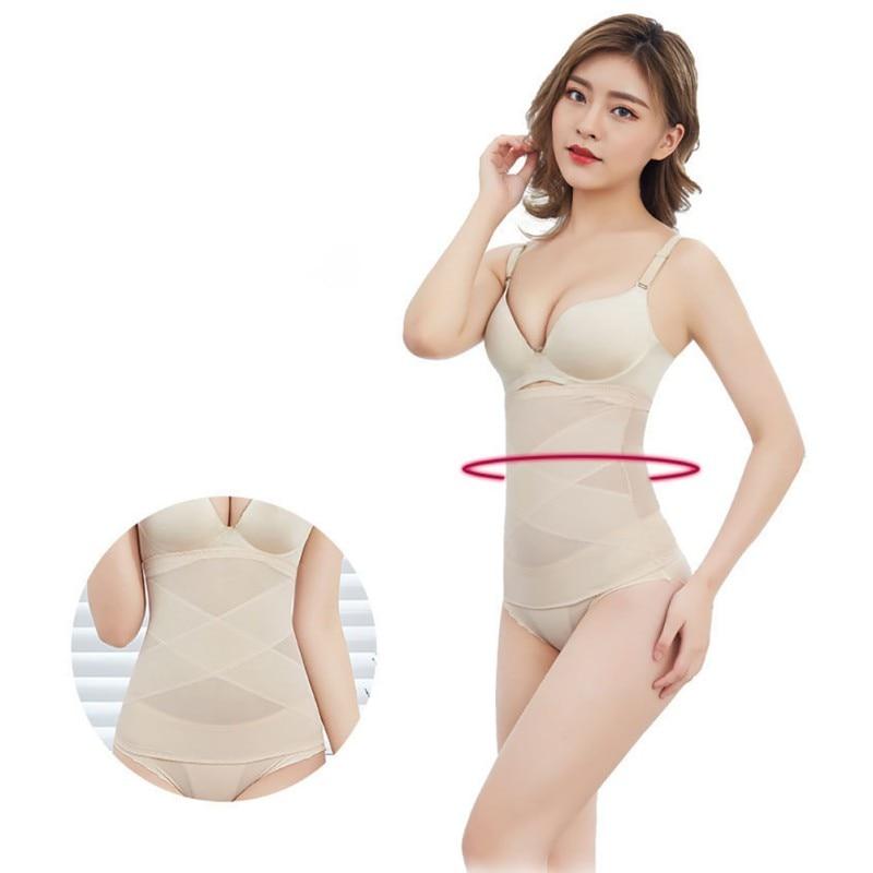 Cuerpo que forma la ropa interior del cuerpo correas de la cintura ultrafinas de las mujeres que forman la cintura Material del cuerpo cómodo transpirable moda salvaje