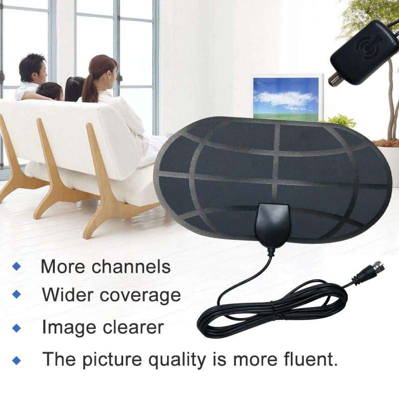 Antena de tv antena 5p interior de tv digital hqclear receptor exterior...