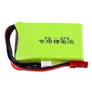 2S 7.4v 1500mah Lipo Battery 15C JST 2S Balancing Connector for FLYSKY FS-GT5 RC Radio Remote Controller Transmitter Parts