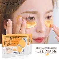 5pairs collagen crystal eye mask face mask gel eye patches for eye bags wrinkle dark circles eye pads skin care korean cosmetics