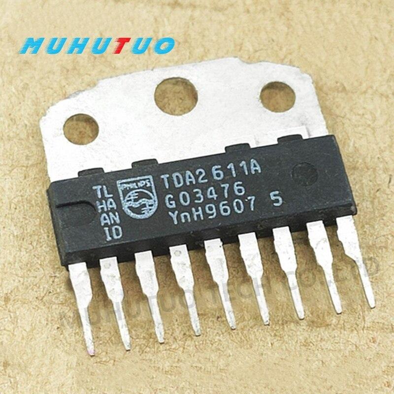 5PCS TDA2611A TDA2611AQ CD2611GS Sound amplifier circuit chip IC integrated block