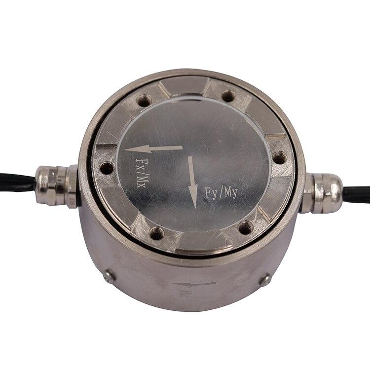 Personalizado 6 celdas triple fuerza 6-axis seis dimensiones carga células multi axis torque sensor