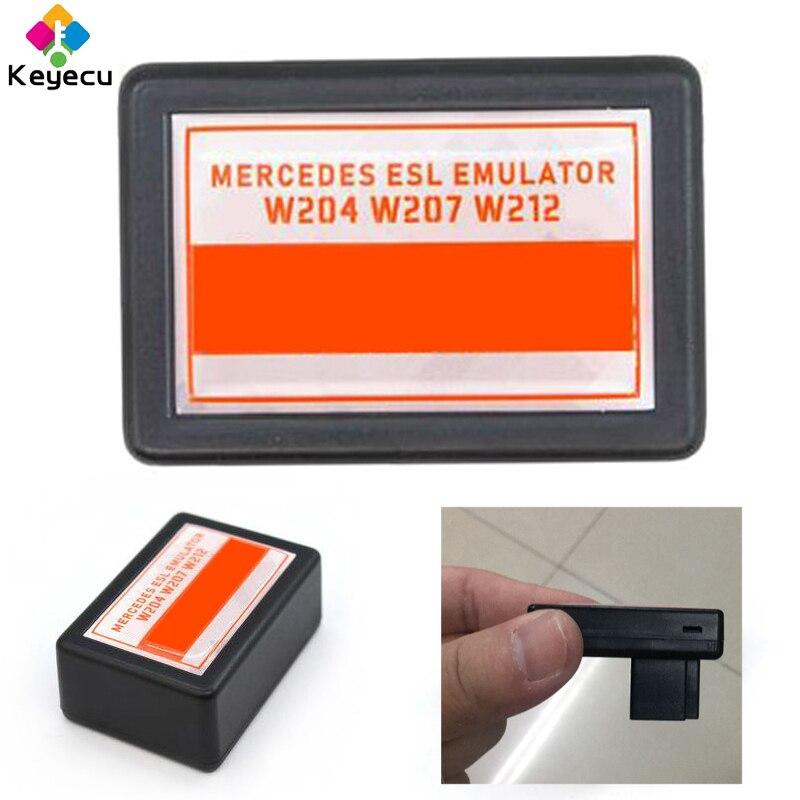 KEYECU ESL/ELV, emulador de bloqueo de dirección para Mercedes W204 W207 W212, Compatible con Abrites VVDI CGDI MB Tools