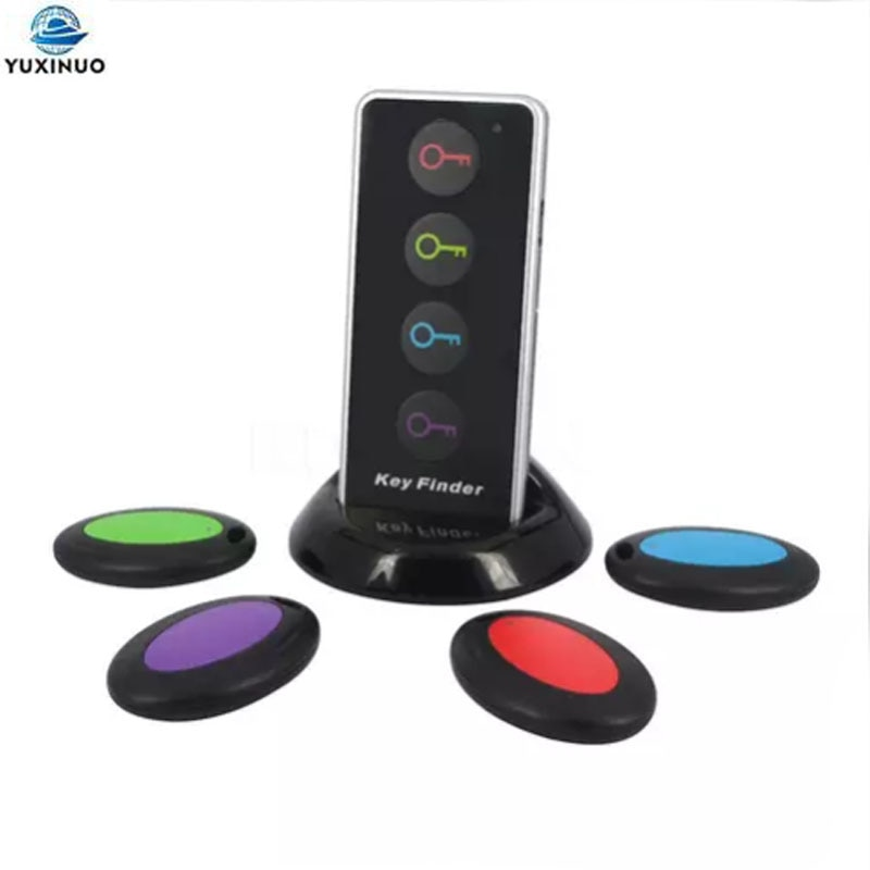 4 в 1 Улучшенный беспроводной ключ-видоискатель с дистанционным управлением, женские кошельки для телефона, защита от потери светодиодный с...