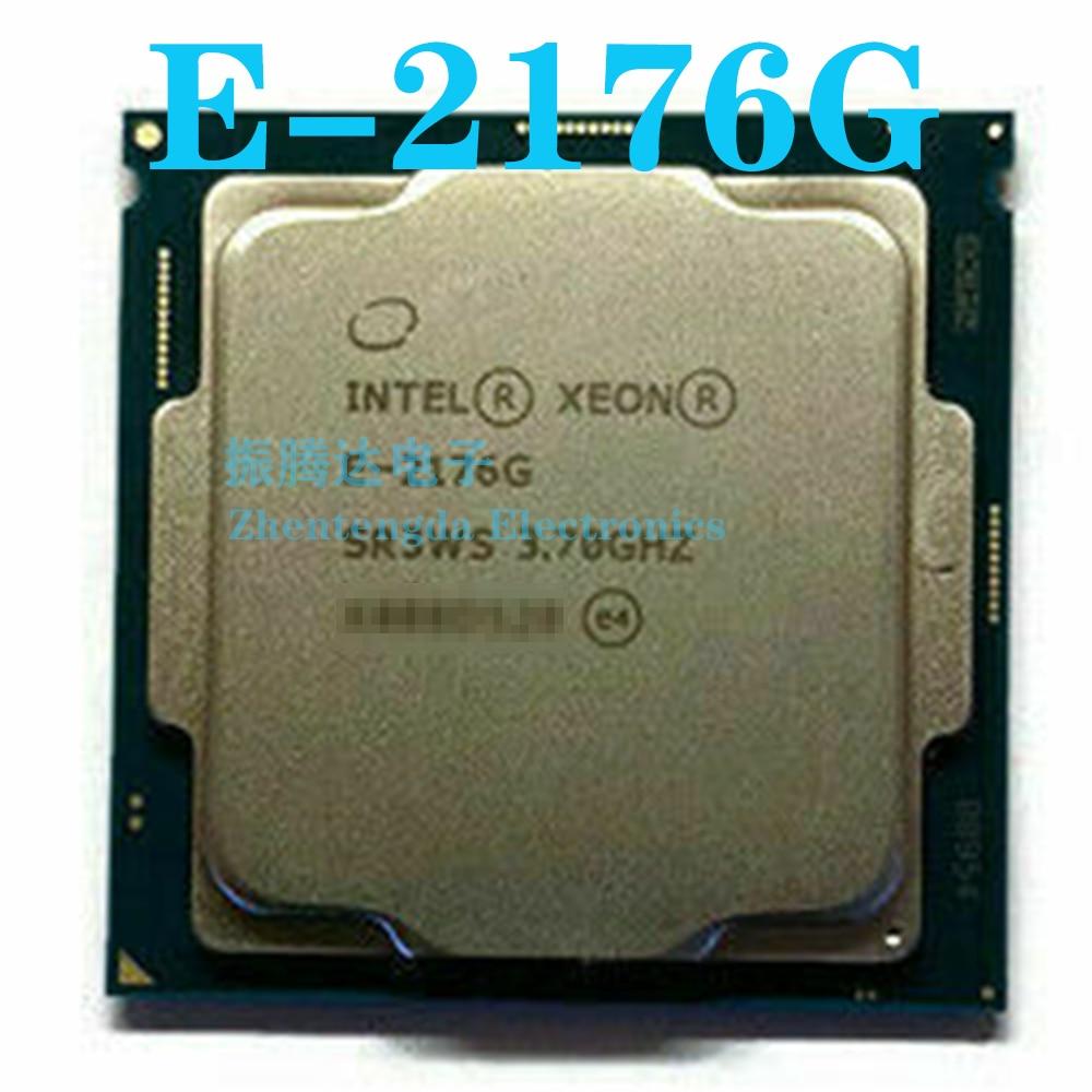 Intel Xeon E-2176G CPU 3.7GHz 12MB 6 Core 12 Thread LGA 1151 E-2176G CPU Processor