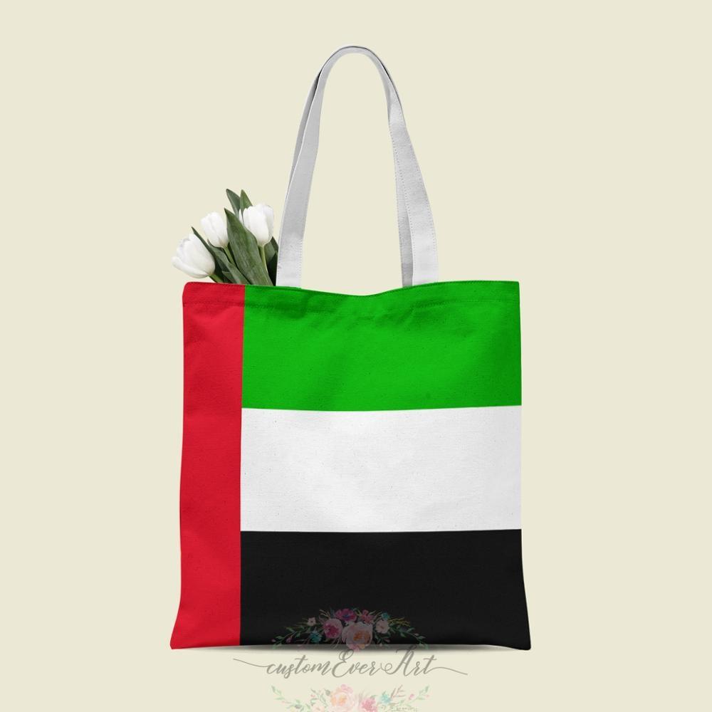 ОАЭ Сумка-тоут на заказ холщовые сумки-шопперы для женщин для учителя Сумки на день рождения Подарочная сумка персонализированные подарки