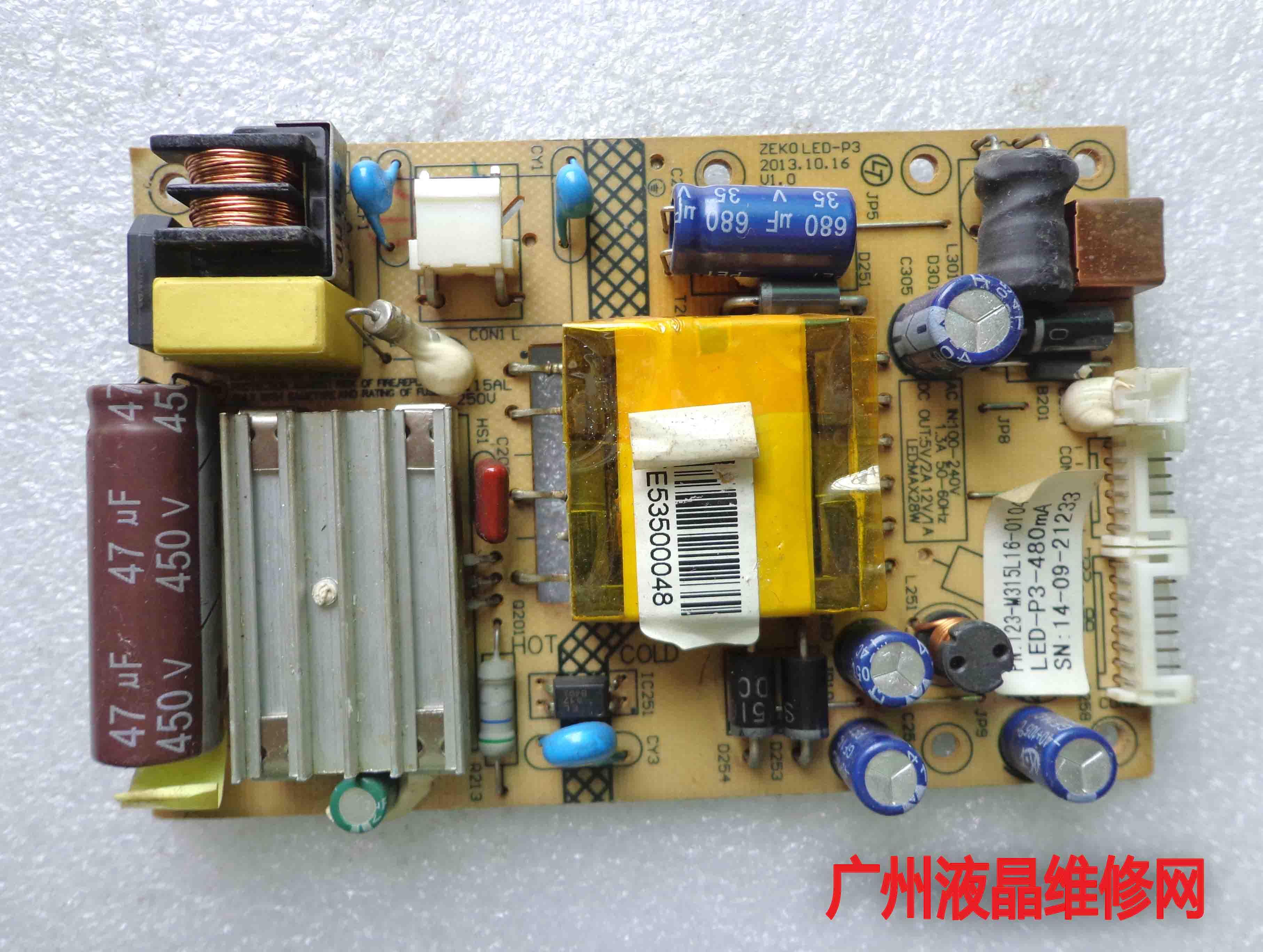 ML326S LZ2832B placa de potencia ZEK0LED-P3 ZEK0 placa base