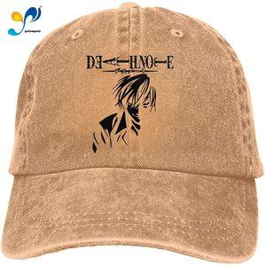 Whitneychuang Death No-Te Unisex Baseball Cap Fashion Casquette Trucker Cowboy Hat