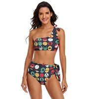 monty python bikini swimsuit with ties beautiful summer swimwear teenager wholesale 2 piece bathing suit