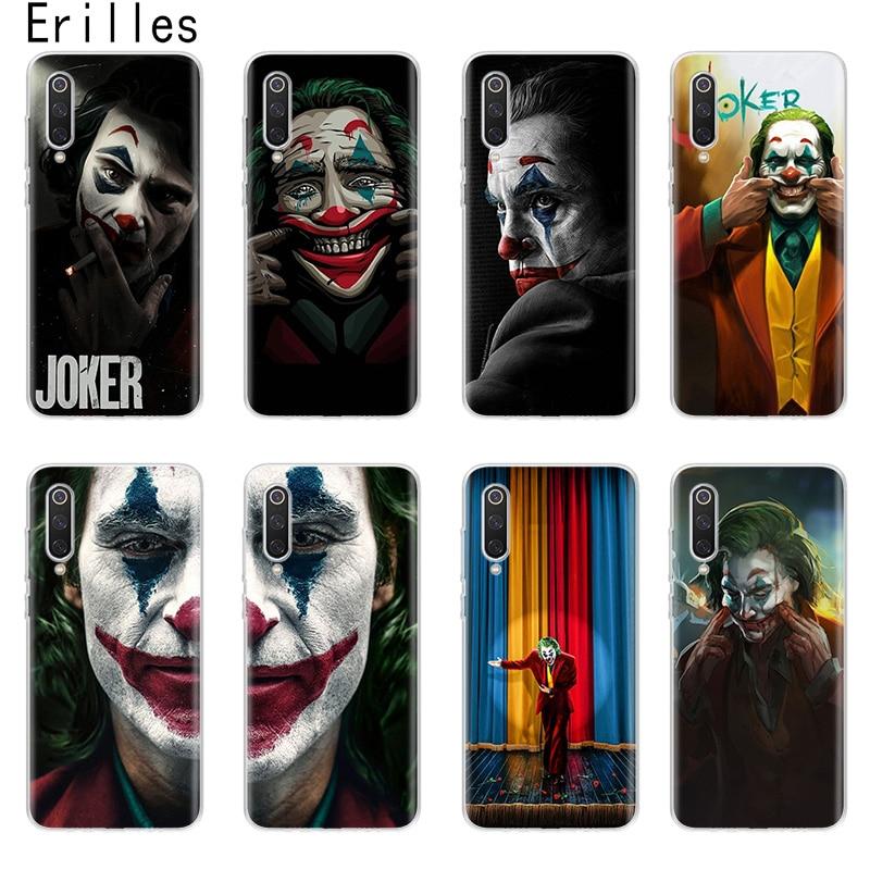Bien Joker Harley para Xiaomi 5X 6X A1 A2 A3 cubierta Xiami 8 9 9T 10 lite Xiomi CC9E Nota 10 Pro Coque para teléfono móvil F1 Shell