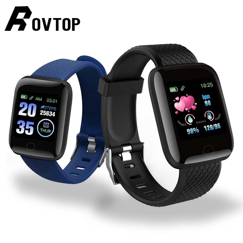D13 Смарт-часы 116 плюс пульсометр смарт-браслет спортивные часы Смарт-браслет для мужчин и женщин водонепроницаемые умные часы