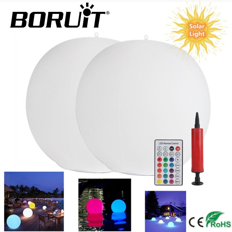 RGB 16 لون LED أضواء الشمسية العائمة تجمع مصباح IP67 مقاوم للماء الكرة الإضاءة حوض استحمام ساخن أضواء ليلية بركة اللعب في الهواء الطلق حديقة