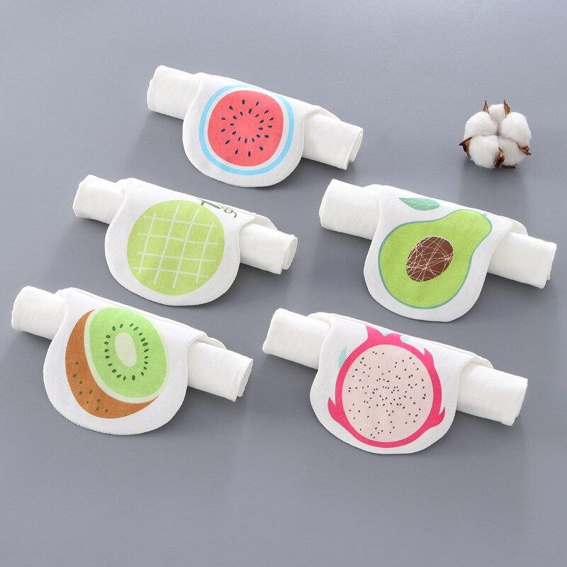 5 pieces of 5-11 year old baby kindergarten sweat-absorbent towel combed cotton children sweat-absorbent towel