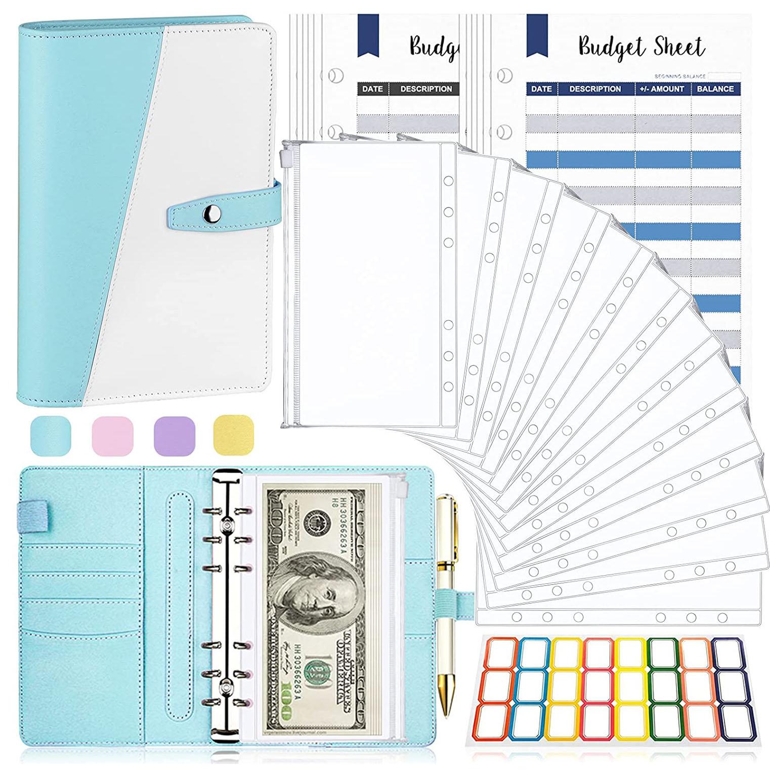 А6 конверты для денег и бюджетных листов, папка для денег, конверты для наличных для бюджетных целей, органайзер для денег