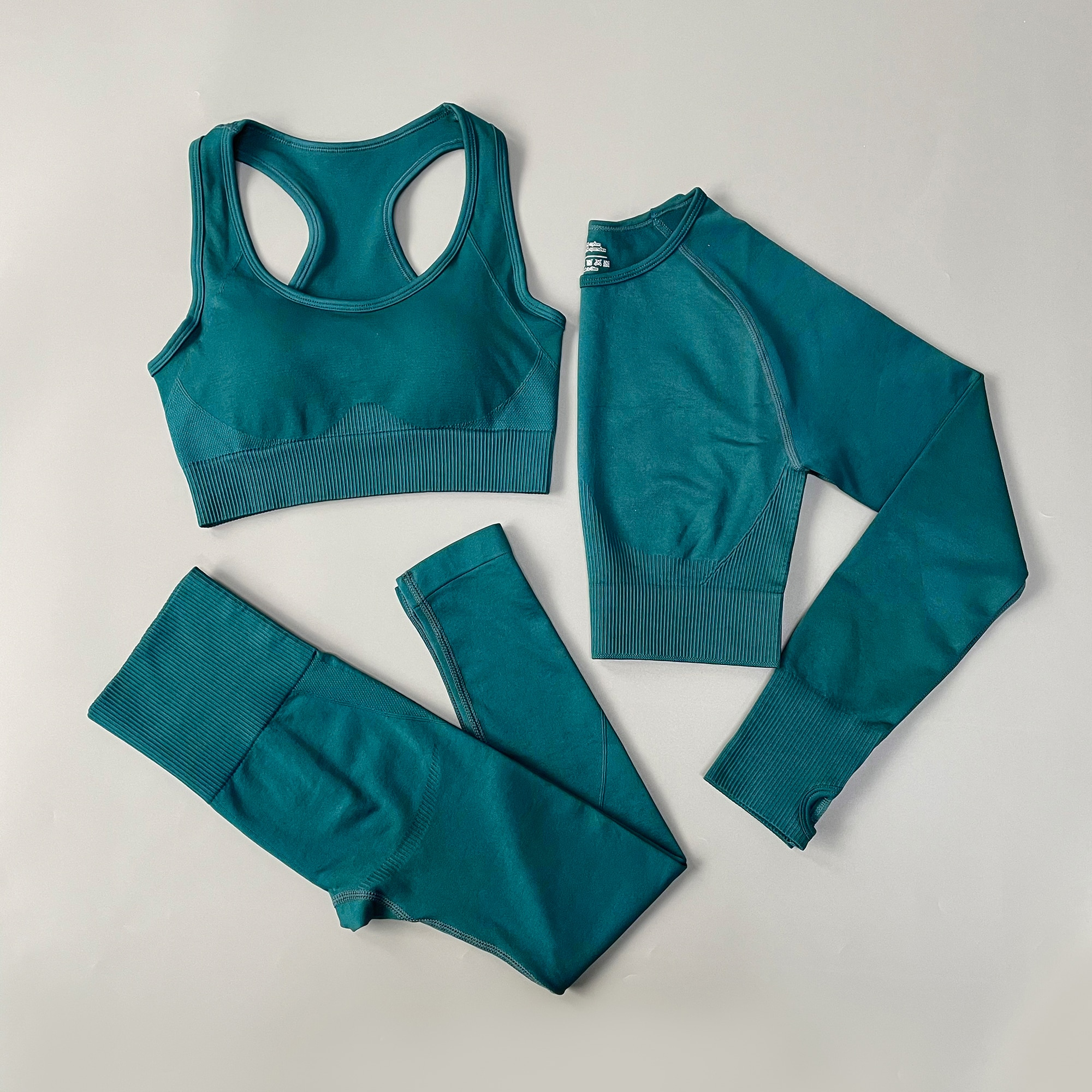 Fitness Women Yoga Set Seamless Sportswear Workout Sport Leggings+top+Bra Gym Set Woman Gym Clothing Shorts Sets 2021 HOT