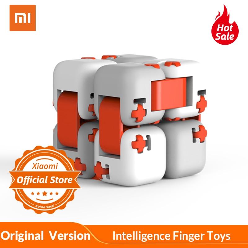 100% Original Xiaomi  mi tu Finger Ziegel mi Gebäude Block Spinner Intelligenz Finger Spielzeug Tragbare Smart Spielzeug Geschenk für kinder