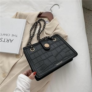 Stone Pattern PU Leather Shoulder Bags For Women 2020 Luxury Quality Handbag Lady Designer Messenger Totes bags