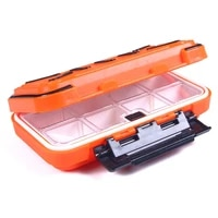 1pcs fishing tackle box waterproof portable fishing lure boxes bait storage case containers for lure hooks earrings necklace
