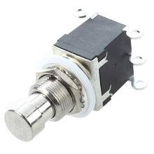 Top-6Pins DPDT interruptor de pie momentáneo para guitarra AC 250 V/2A 125 V/4A