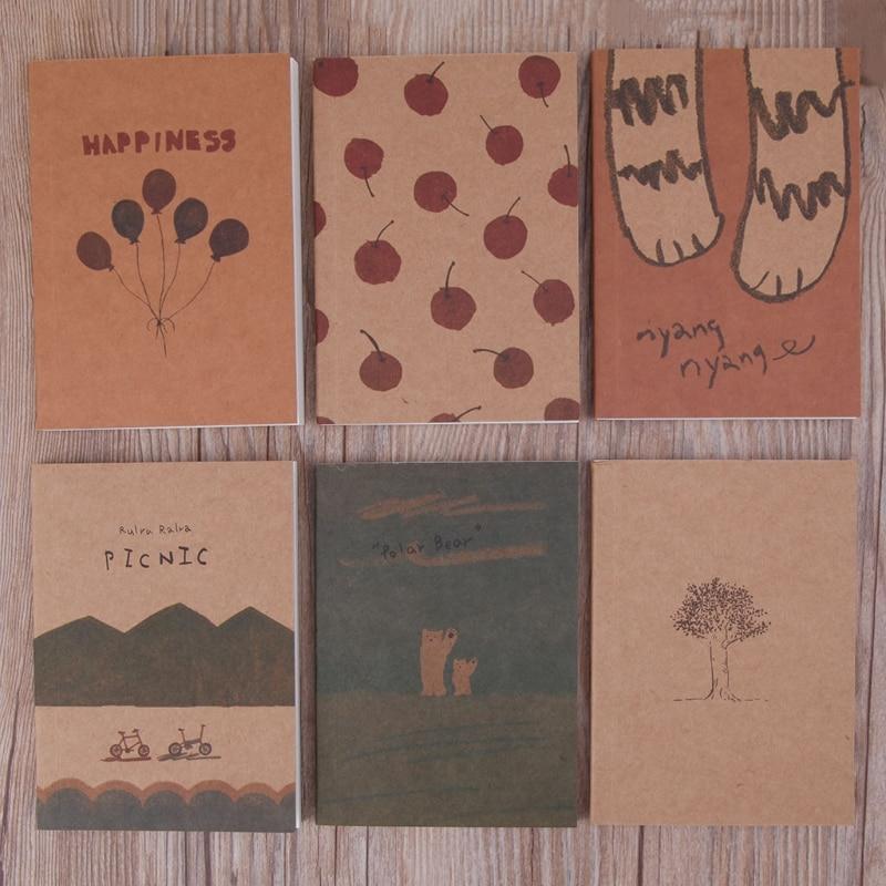 Caderno página em branco pintura livro de papel diário bloco de notas bloco de notas suprimentos q6pa