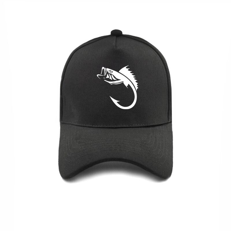 Рыбацкий рыболовный крючок бейсболки Регулируемые модные повседневные крутые уличные стильные рыболовные шляпы