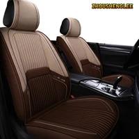 zhoushenglee flax car seat covers for mazda 323 626 cx 3 cx 4 cx 5 6 2014 cx 5 7 9 bt50 3 bk bl 6 gg mpv demio premacy car seats