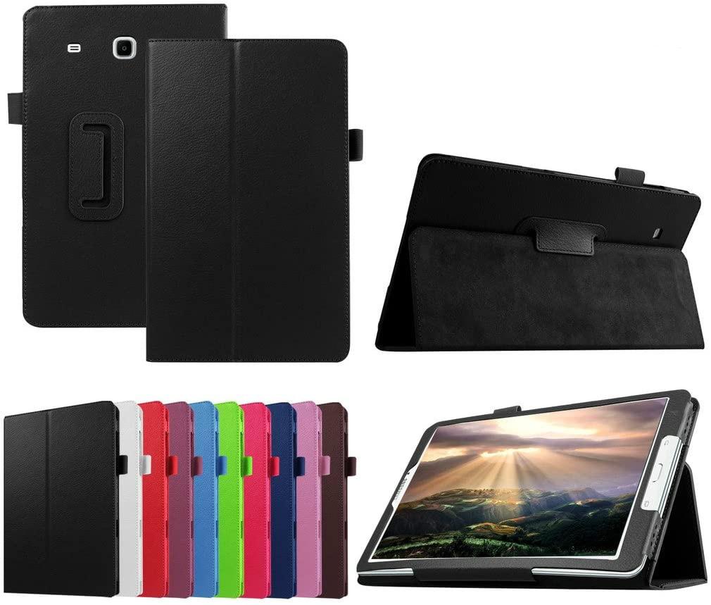 "TabE 9,6 SM-T561 T560 T567 funda para Samsung Galaxy Tab E 9,6 ""T560 Smart PU cuero Folio soporte plegable soporte Stylus"