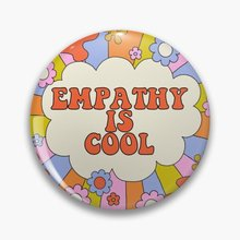 Empathy is Cool - The Peach Fuzz  Soft Enamel Pin Badge Decorative  Clothes Badge Lapel Pin Brooch J