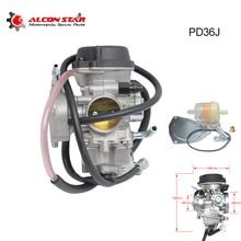 Alconstar-motorcycle 36mm PD36J gaźnik do QUAD ATV KFX 400 KFX400 2003 ~ 2006 UTV LTZ 400 LTZ400 Raptor 400