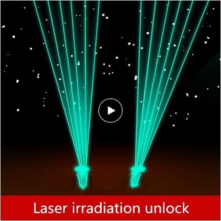 Accessoires de salle de sortie vraie vie   Jeux laser, déverrouillage Laser, irradiation du récepteur, déverrouillage après un certain nombre de fois