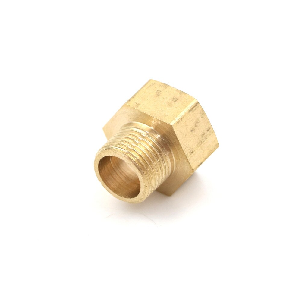 1PCS 1/2 BSP Female Thread x 3/8 Brass Pipe Fitting Adapter Male Connection For Water