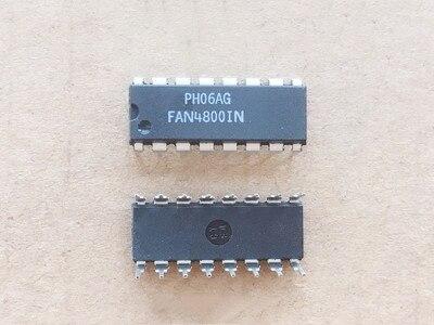 4 pçs/lote FAN4800IN FAN4800A FAN4800ANY DIP-16 chip de potência LCD