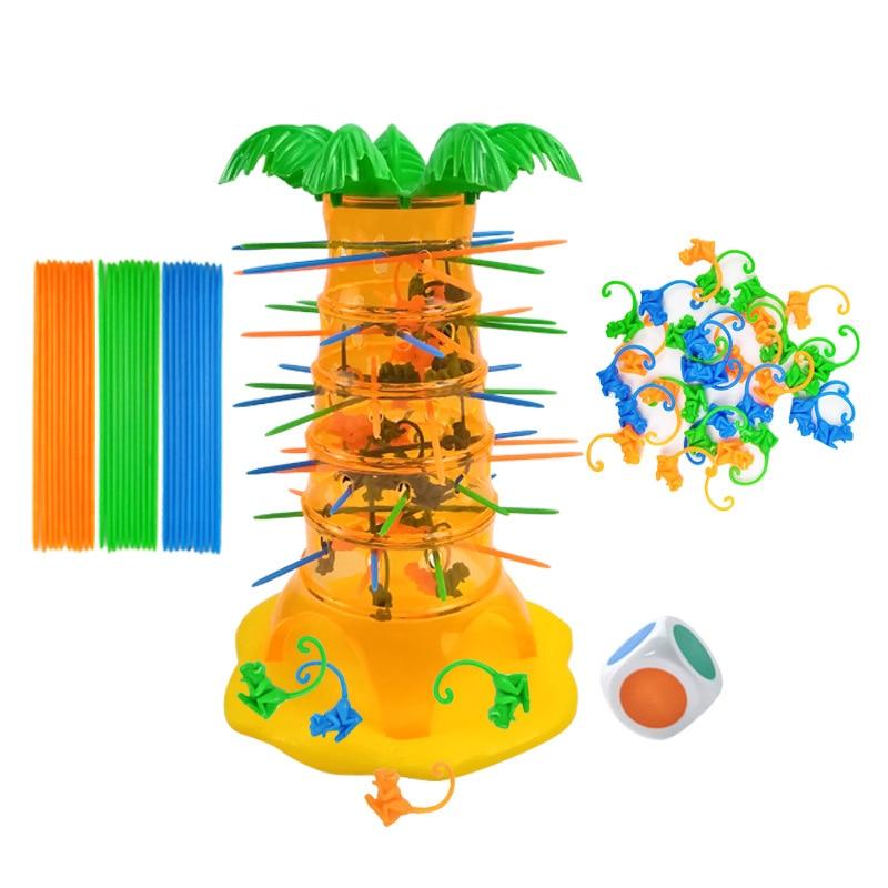 Настольная игрушка Монтессори, обезьяна, скалолазание, настольная игрушка, милая мультиплеерная настольная игра, семейная настольная игра,...