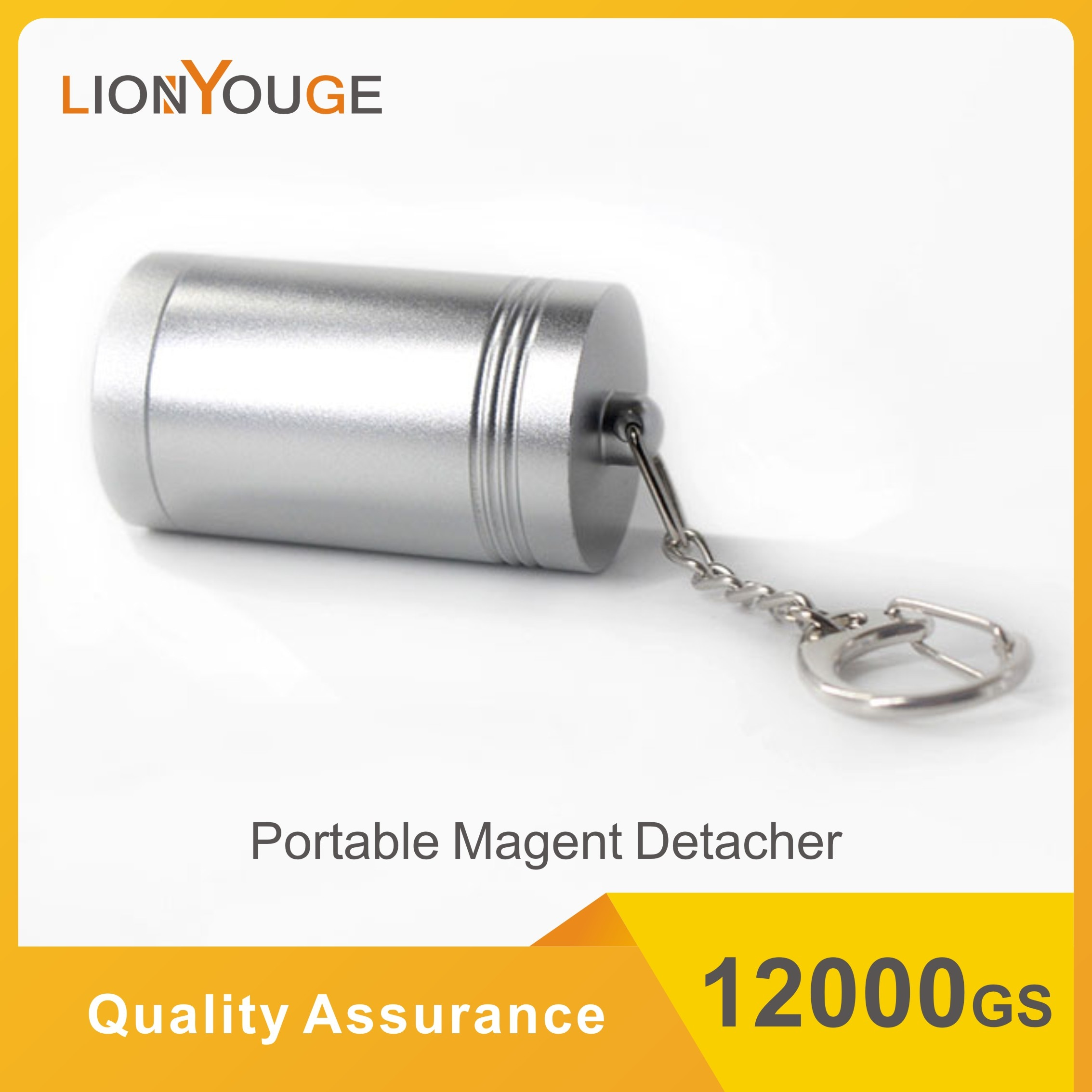 Портативный Магнитный съемный ключ 12000gs, магнитный портативный Съемник бирок EAS для снятия бирок безопасности, крючков, мини-бирок.