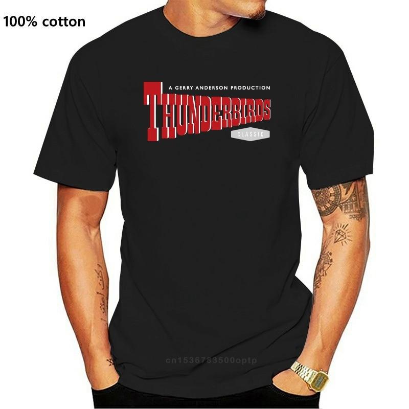 Camiseta oficial de Thunderbirds para mujer, con Logo de tintina Camisa de...
