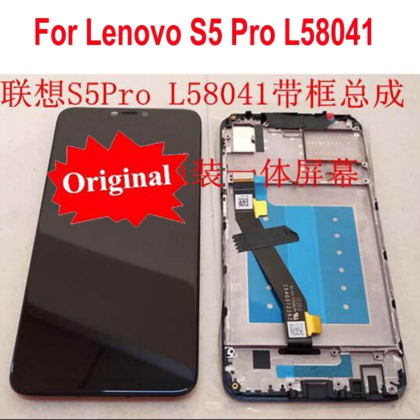 أفضل شاشة LCD أصلية تعمل باللمس محول الأرقام الجمعية الاستشعار + الإطار الحافة لينوفو S5 برو l580 41 S5ProGT l580 91 بانتيلا