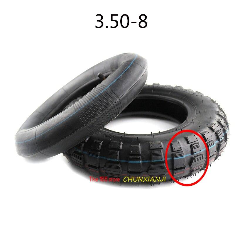 Super 3,50-8 del tubo interno del neumático para Honda Z50 Z50 Z50R Z50J Mini pista mono moto Kawasaki KV75 MT1 mono bicicleta 3.50X8 neumático