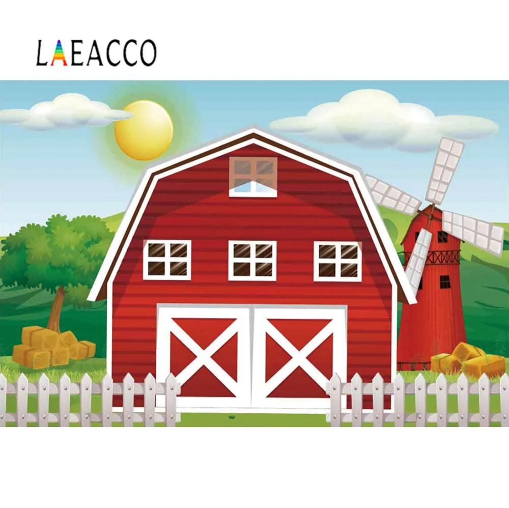 Laeacco の写真の背景ハッピーバースデーベビー漫画バス飛行機カスタマイズバナー写真撮影フォトスタジオの背景