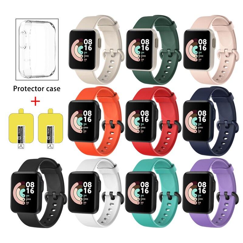 Correa de repuesto para XiaoMi Mi Watch Lite, pulsera de silicona deportiva...