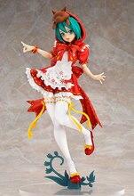 Nueva y sexi figura roja de Anime Hatsune Miku, Caperucita Roja 2ª figura de acción de Pvc, juguete de modelos coleccionables, 25cm, muñeca de firguine