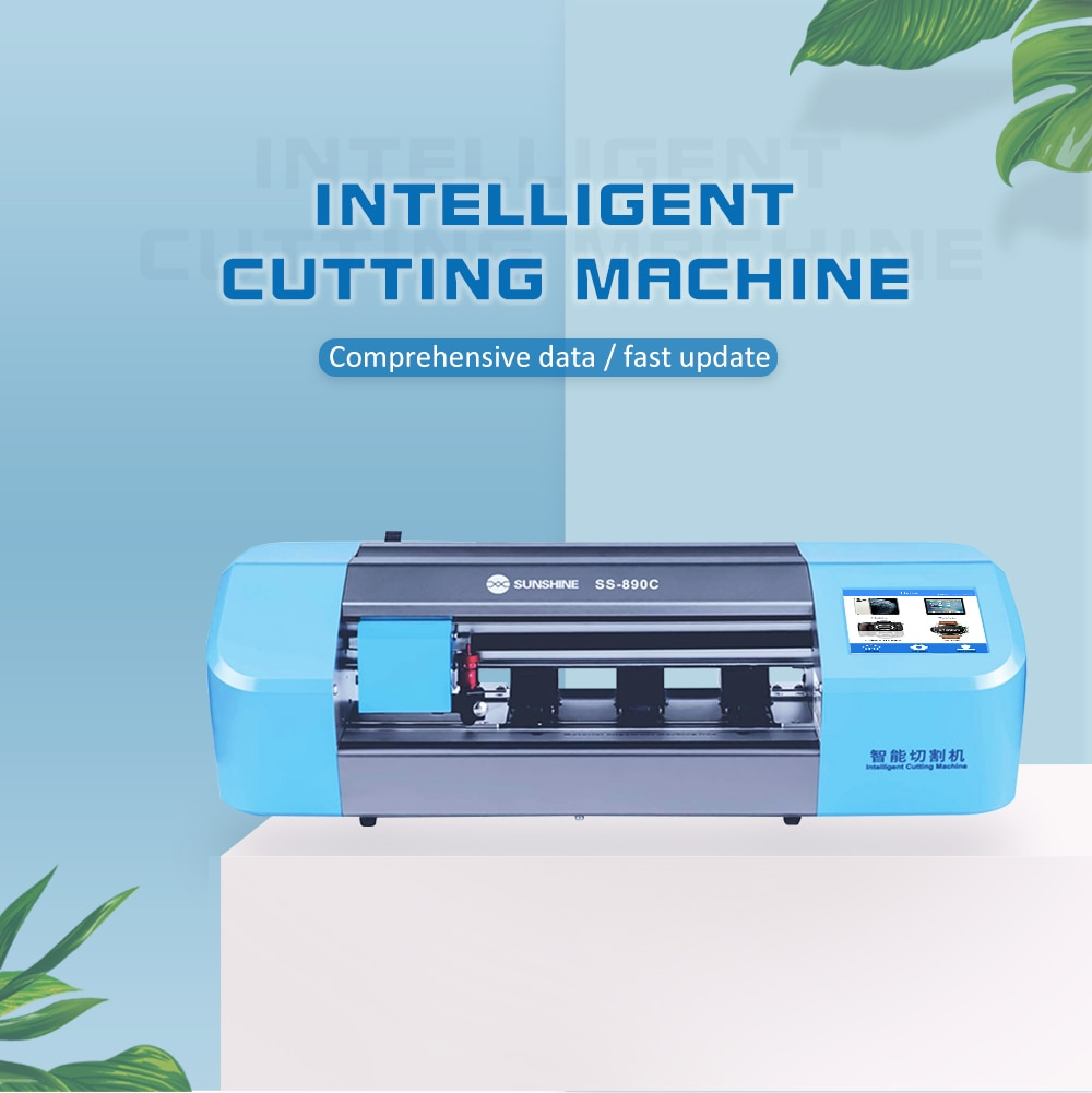 Jiutu Auto Film Cutting Machine With Touch Screen Mobile Phone Camera Tablet Front Back Cover Protect Tool