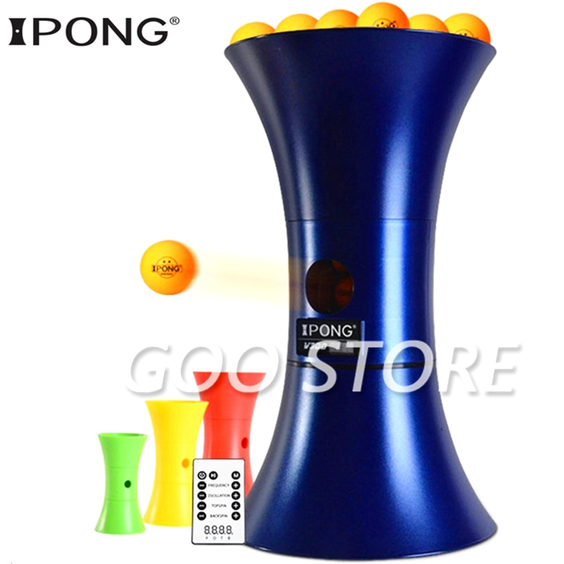 Original ipong V300 Table Tennis Robot Training table tennis machine Automatic Serving Machine Ping Pong Tenis De Mesa